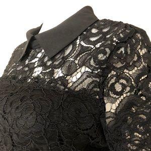 Karl Lagerfeld Dresses - karl lagerfeld•lace•cocktail dress